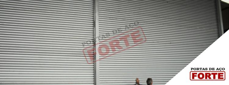 manutanção portas de aço